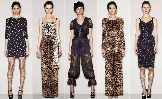解读Dolce&Gabbana 2011秋冬时装时尚流行趋势(图1)