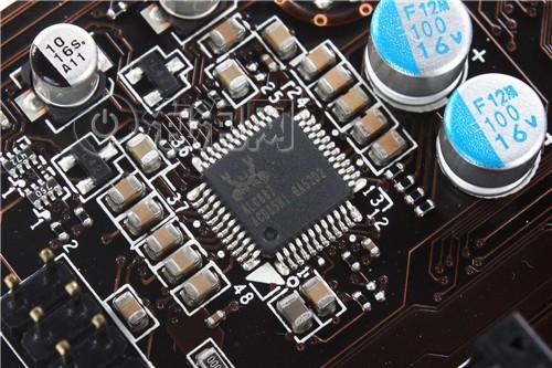 声卡采用realtek的alc887芯片