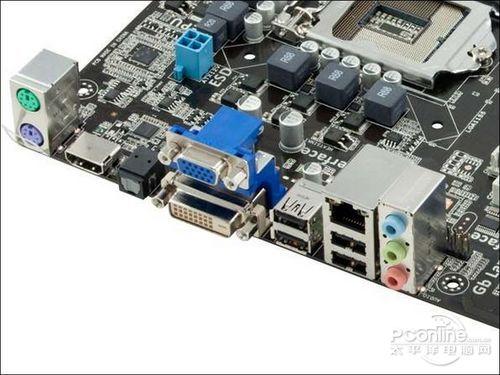 电脑主板网线接口电路