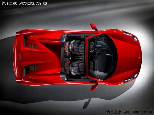 硬顶敞篷 法拉利458 spider官图发布高清图片