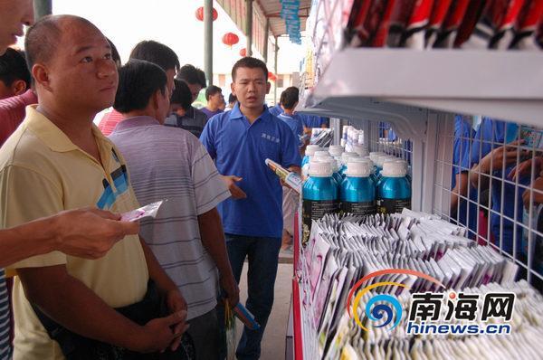 海南省农资物流中心平面设计图