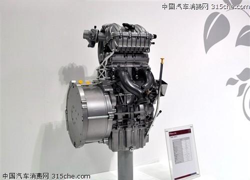 4a91 at为基础车型,是一款串联增程型插电式混合动力产品.