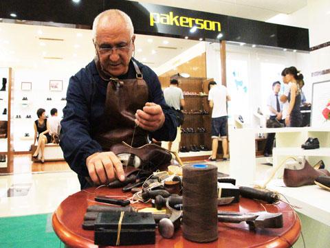 皮鞋pakerson品牌强势进入中国