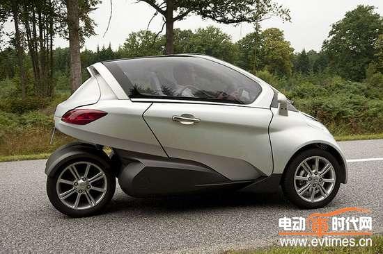 icona三轮电动概念车高清图片