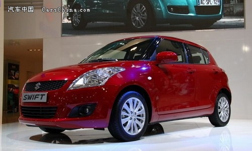 MINI经济用车排行榜 全新2011款铃木新雨燕上市高清图片