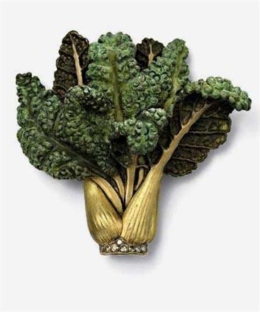 特别设计 蔬菜造型珠宝让你垂涎欲滴图片