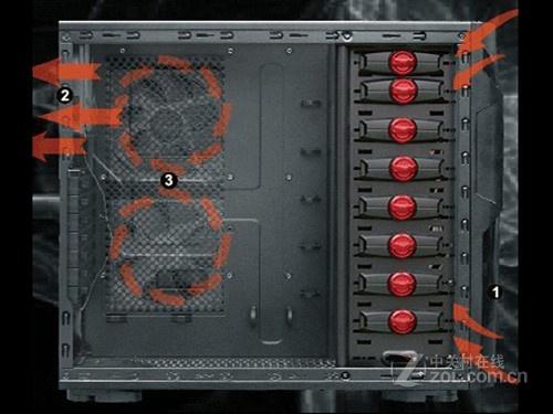 不惧怕高端显卡 魔兽v3机箱风道图解