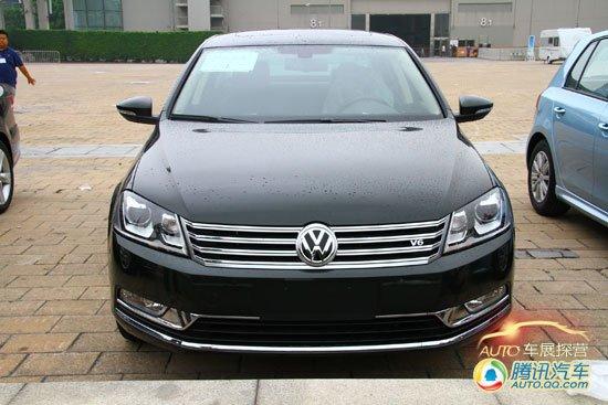 [广州车展探营]一汽大众迈腾3.0 V6版曝光
