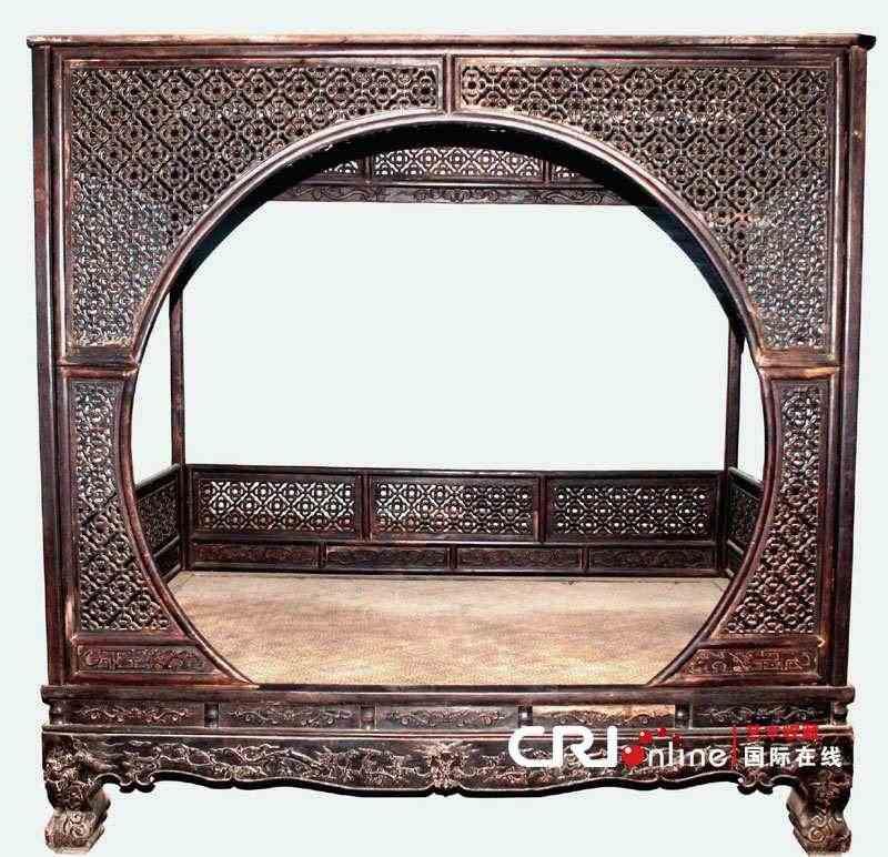 (多图)看看古代大户人家奢华的床什么样