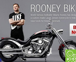 鲁尼善举网拍超级摩托