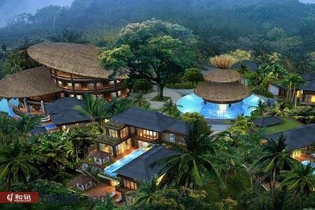 正文    那香山   均价43000元/平方米   位于呀诺达热带雨林景区内图片