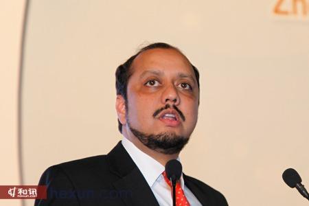 印度斯里雷努卡糖业有限公司总经理纳伦德拉•穆昆