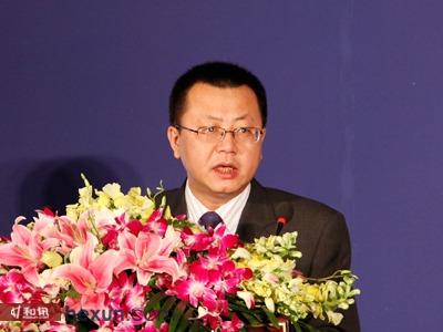和讯网总编辑王炜发表大会致辞