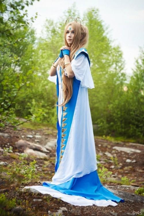 第10页 我的女神 俄罗斯美女神级COS