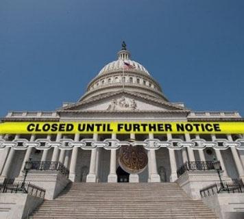 美国政府停摆关门风波-专题