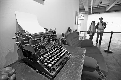 1926年的老式打字机