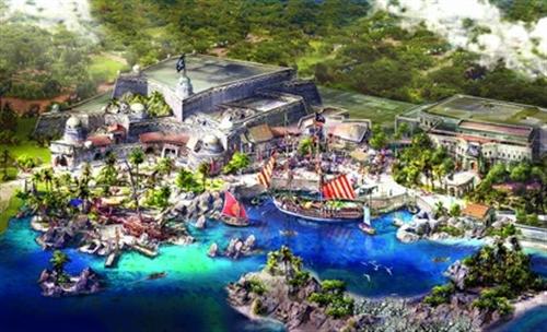 加勒比海盗登陆迪士尼(附照片)