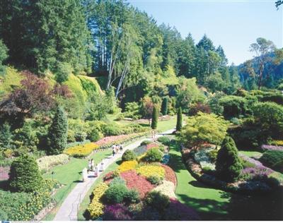 加拿大布查特花园.图/东方ic