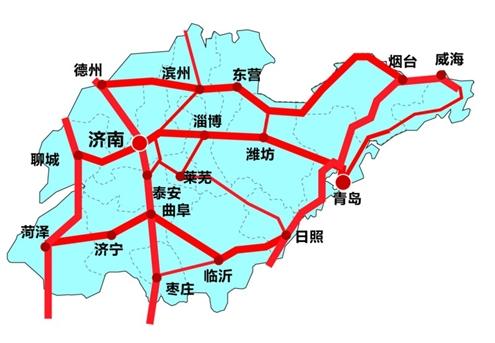 陕西高铁地图全图