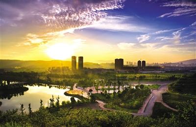 永川城市未来向南发展 凤凰湖成黄金宝地