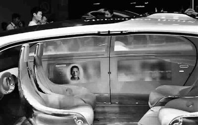 ,汽车厂商成为了此次展览的主角,互动多媒体与无人驾驶等技术高清图片