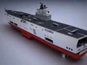 中国两栖攻击舰首获官方证实