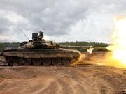 俄制T90坦克部署到叙利亚