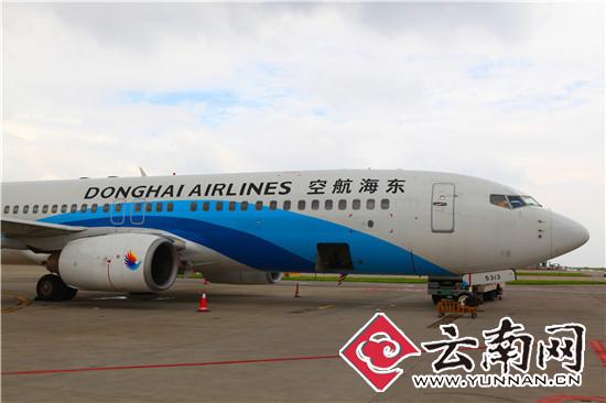 东海航空波音737—800型客机在长水机场