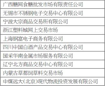 2016大宗市场企业评选揭晓